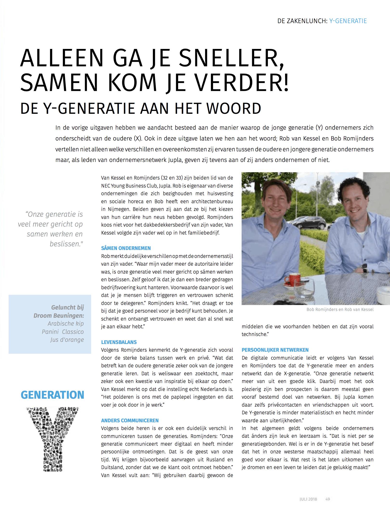 IN2 Maas en Waal juli 2018